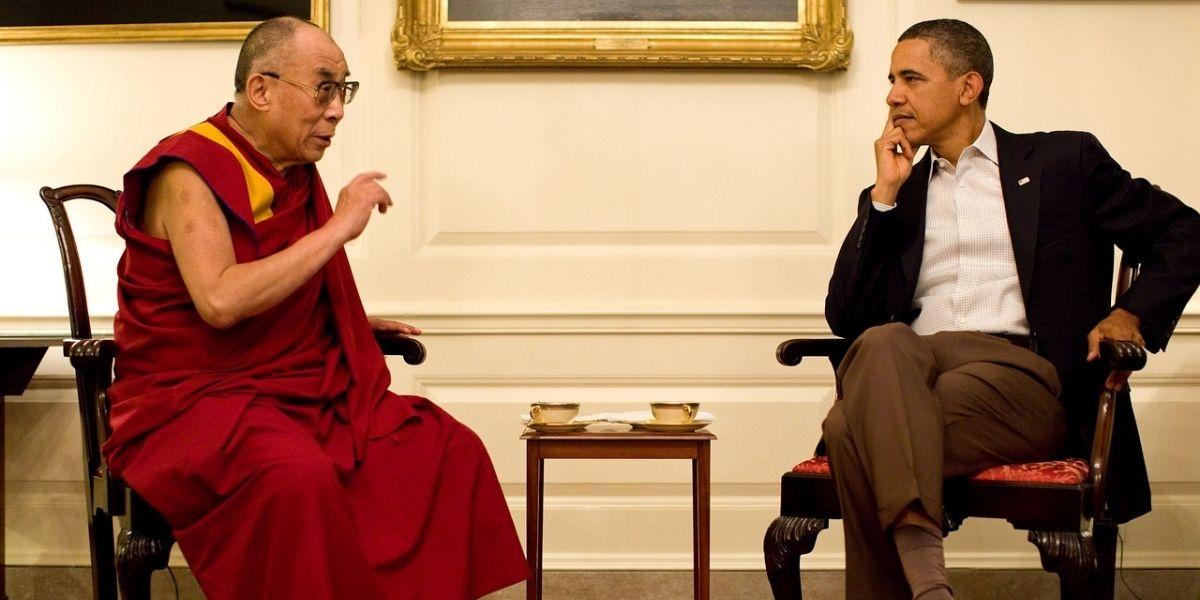 barack obama and dalai lama